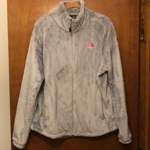 North Face Fuzzy Fleece Jacket